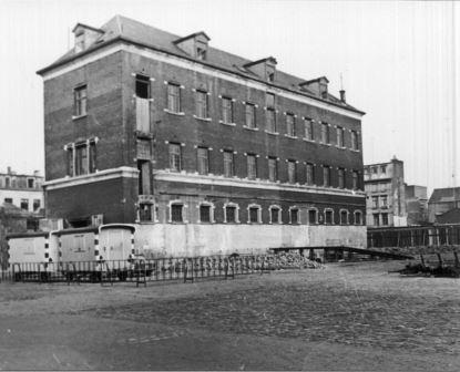 Buildings of Prekerskazerne Barracks, which were demolished in 1972
