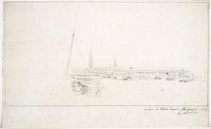 1814. The arsenal's smithies