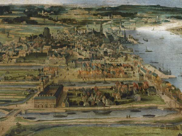 The Boerenkwartier neighbourhood near the Hanseatic House (A. Grimmer)