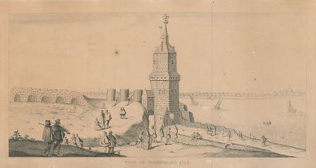 Kronenburg Tower in 1543