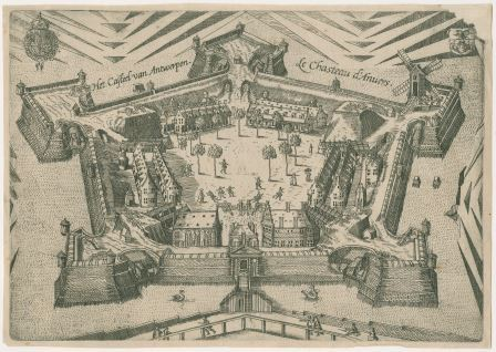 The citadel in the sixteenth century