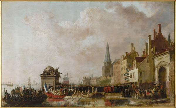 """Entry of Napoleon in Antwerp"" (Van Bree)"