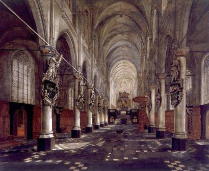 """Interior of St. Walpurga's Church"" (Ghering)"