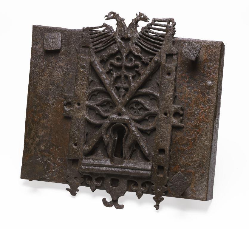 Sixteenth-century door release of the Vierschaer