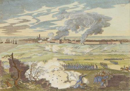 Siege of the citadel in 1832