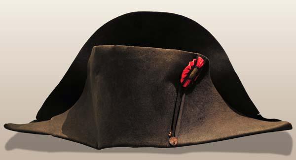 Napoleon's beaver felt hat, 1815