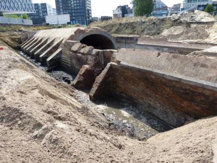 Opgraving sas van het Schijn in 2015