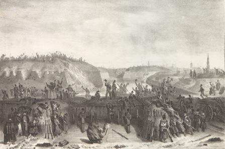 The surrender of the citadel on 23 December 1832