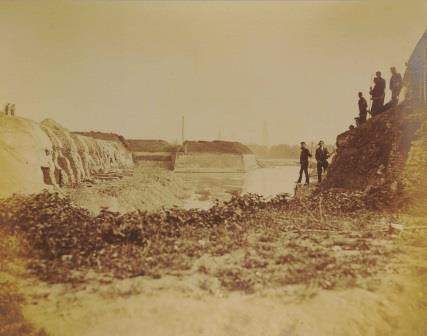 Demolition of the citadel in 1874