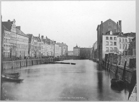 Brouwersvliet in the 19th century
