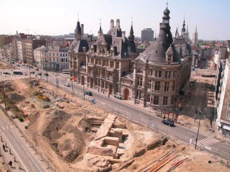 Excavation of the Bastion of Keizerspoort in 2003