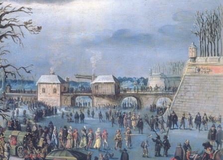 'Maskerade op de vesten' 17de-eeuws schilderij