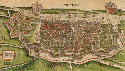 Spaanse omwalling met citadel van Alva, 1568