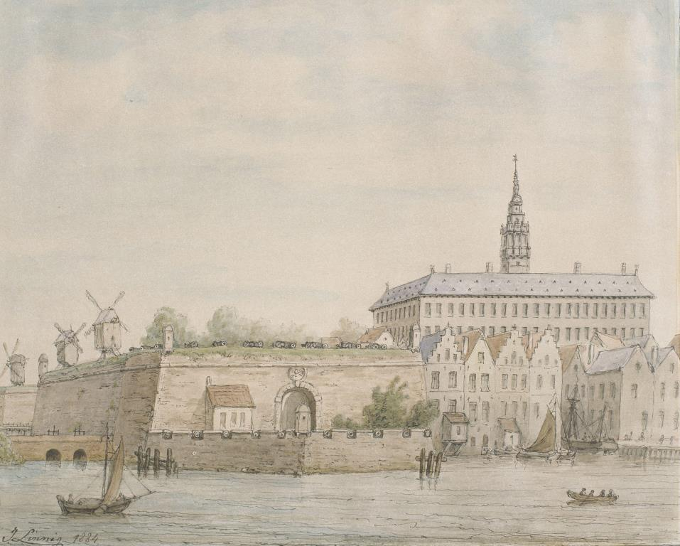 Bastion of Kattenberg and the Hanseatic House (J. Linnig)