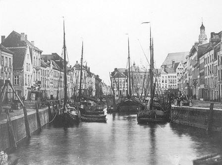 Sint-Pietersvliet in the nineteenth century