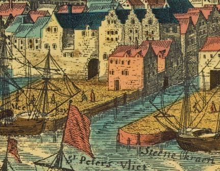 Sint-Pietersvliet around 1600