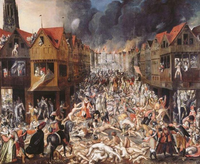 De Spaanse furie en het brandende stadhuis