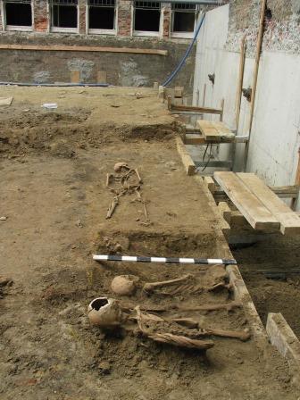 Opgraving site Tabaksvest in 2008