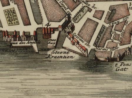 Moorings near Meekaai (18th century)