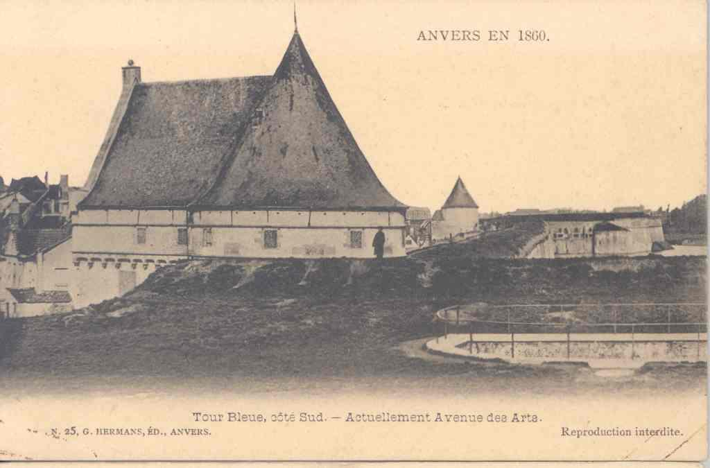 The Blue Tower circa 1860
