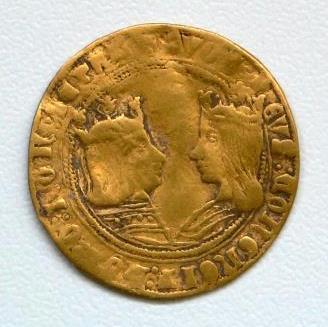 Gouden munt voorzijde