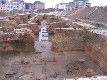 Excavation of the Hanseatic House in 2005
