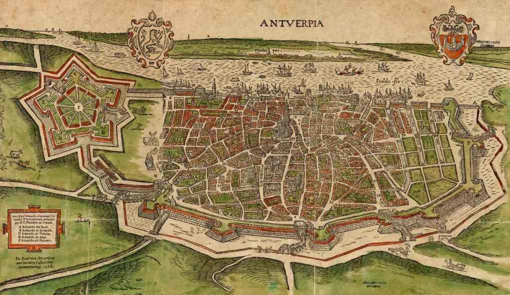 Sixteenth-century Spanish ramparts with citadel