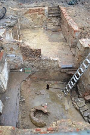 Opgraving schepenhuis en bouwblok 'den Teerling'