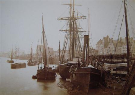 An impression of the Scheldt quays in the 19th century